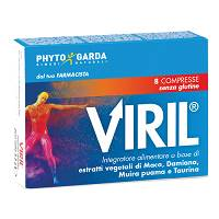 VIRIL 8CPR RIVESTITE OS 1100MG